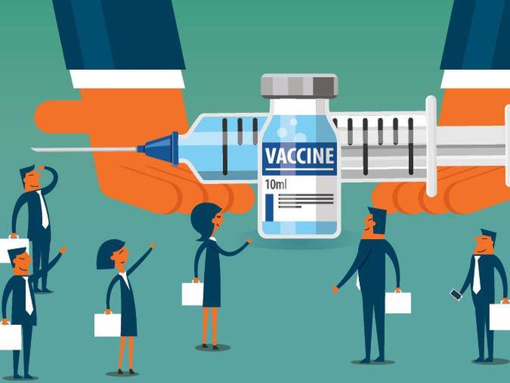 Pandangan Ahli Epidemiologi soal Konsep Vaksin Gotong Royong