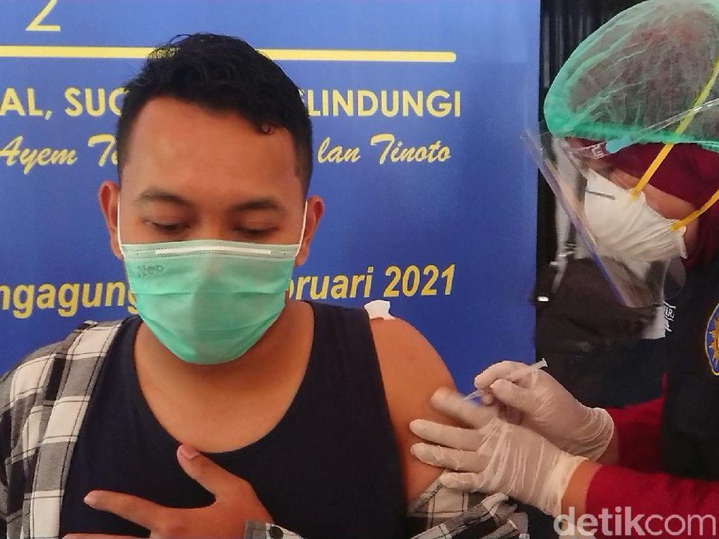 87 Jurnalis di Tulungagung Jalani Vaksinasi COVID-19