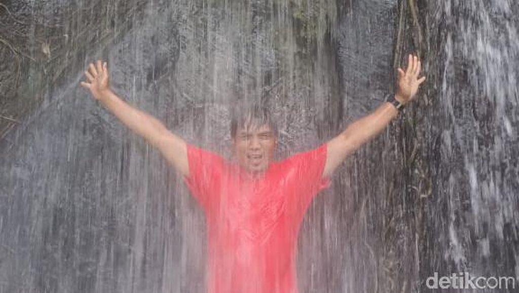 Foto: Air Terjun Alami dari Kutai Kartanegara