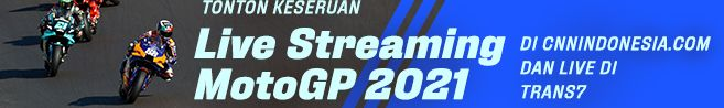Banner Live Streaming MotoGP 2021