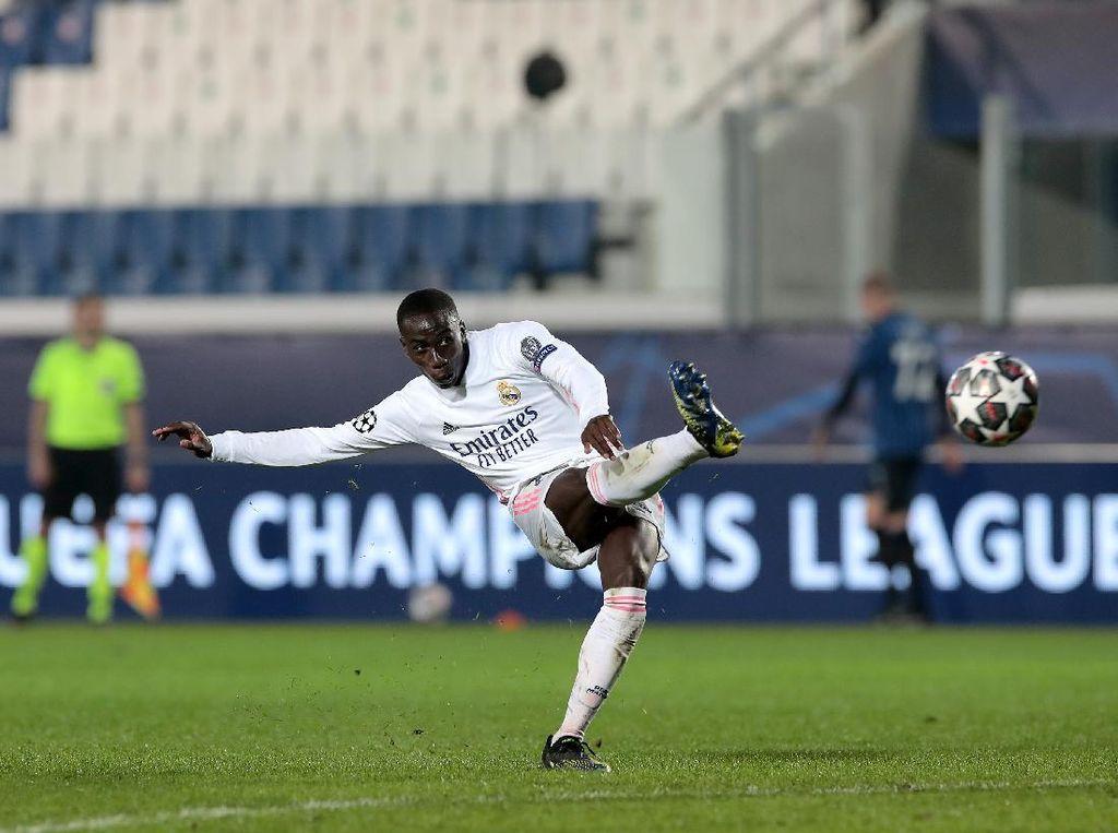 Atalanta Vs Madrid: Mendy Cuma Bikin Satu Shot, Langsung Gol
