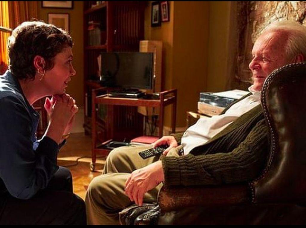 Anthony Hopkins Jadi Aktor Tertua di Nominasi Aktor Terbaik Oscar