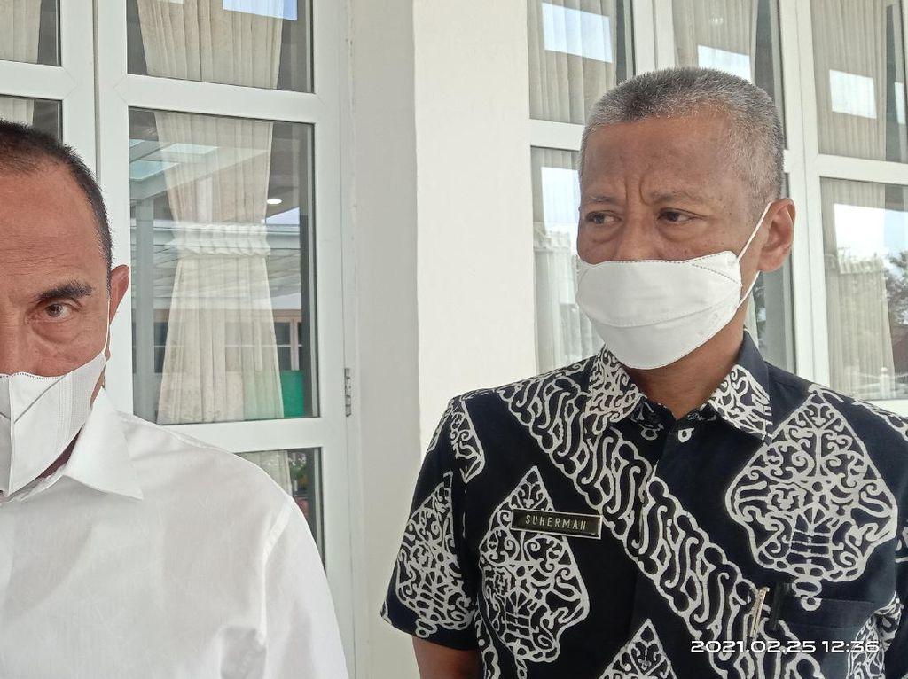 Lantik 11 Kepala Daerah Terpilih Besok, Gubsu Edy Ingatkan Tak Bawa Massa
