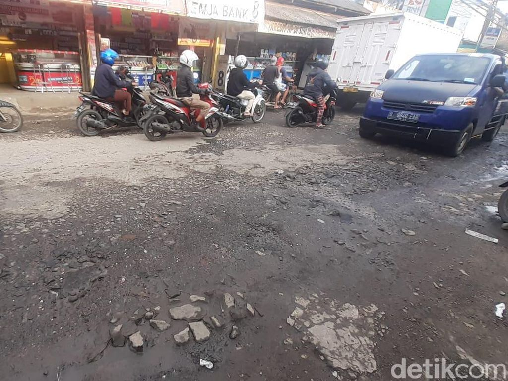 Pihak PUPR Kabupaten Bogor: Perbaikan Jl Pabuaran Tunggu Lelang