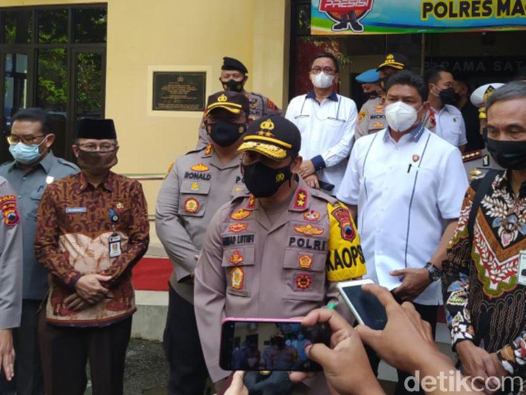 Kapolda Jateng ke Walkot-Bupati yang Dilantik Besok: Jangan Bikin Pesta!