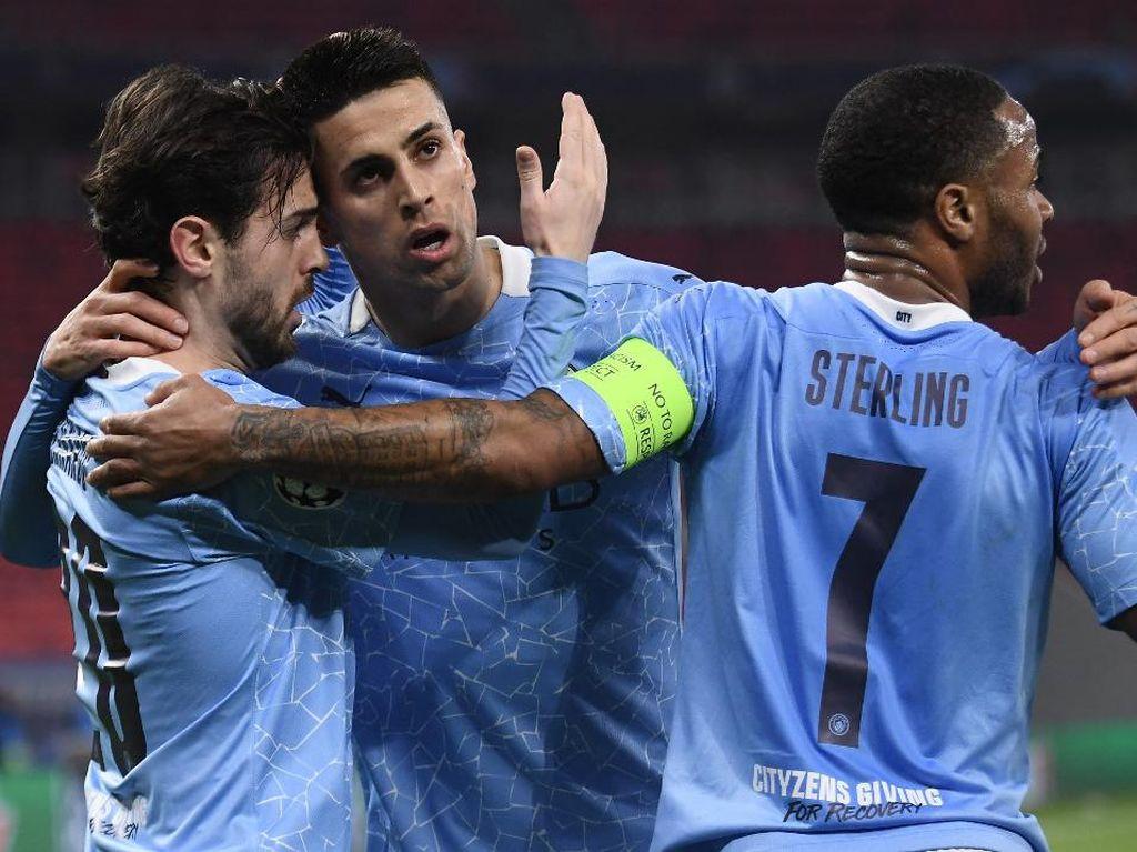 Liga Champions: Man City Lagi Perkasa, Guardiola Tepis Label Favorit