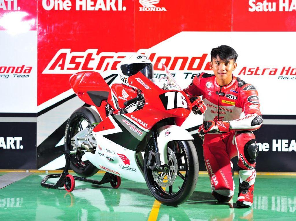 Bamsoet Apresiasi Performa Mario Suryo Aji di Seri Perdana CEV Moto3