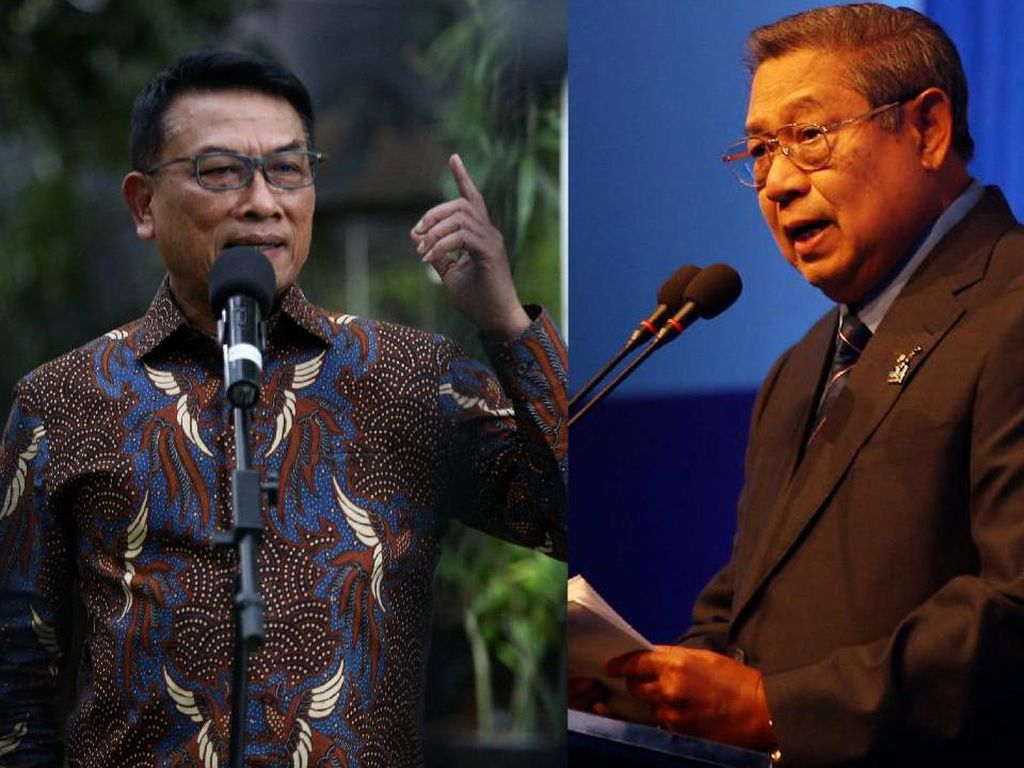 Moeldoko Jawab SBY: Jangan Menekan-nekan Saya!