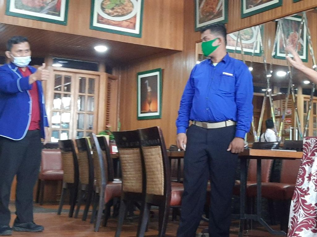 Satgas Rajawali PD Datangi Jumpa Pers Kader Muda Demokrat, Akan Lawan KLB