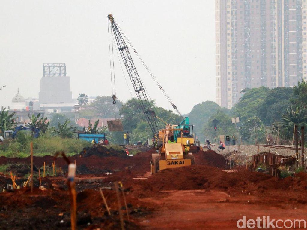 Progres Terkini Pembangunan Rel Ganda di Gedebage Bandung