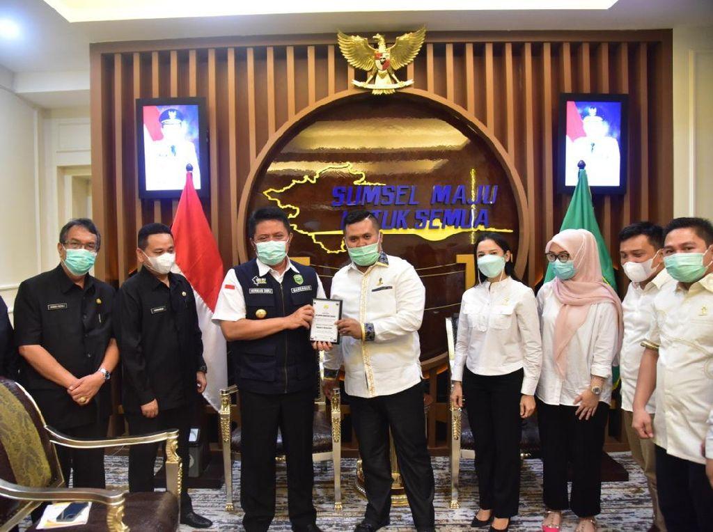 Gubernur Sumsel Ajak Himpunan Pengusaha Muda Garap Potensi Desa