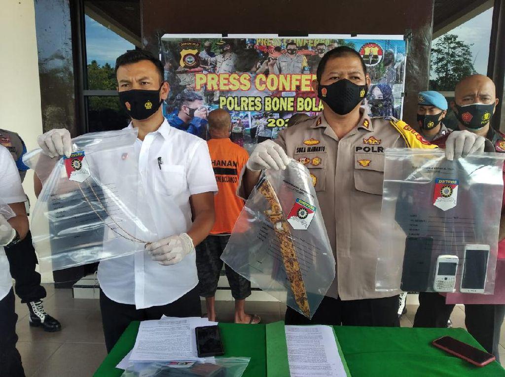 Residivis Dijuluki Kolor Ijo Gorontalo Ditangkap Polres Bone Bolango