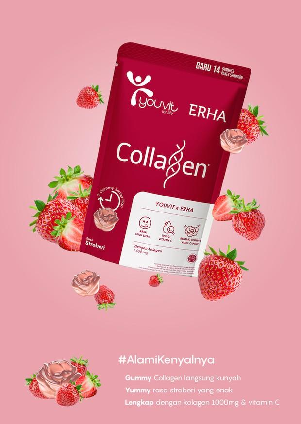 Produk YOUVIT x ERHA Collagen