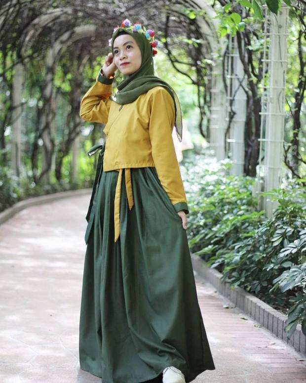 Dm_boutiquebydinda yang menjual hanbok Korea.