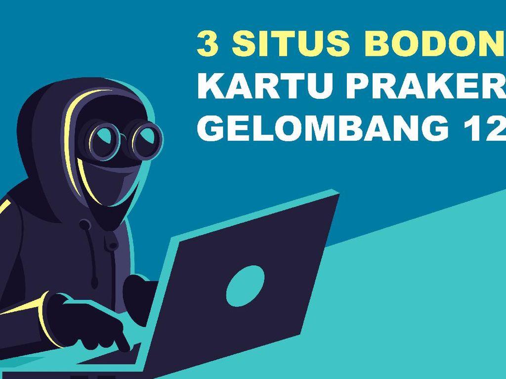 Hati-hati 3 Situs Bodong Kartu Prakerja Gelombang 12