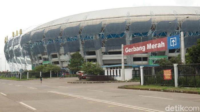 Stadion Gelora Bandung Lautan Api (GBLA) Kota Bandung siap digunakan untuk pertandingan Piala Menpora, Maret mendatang.