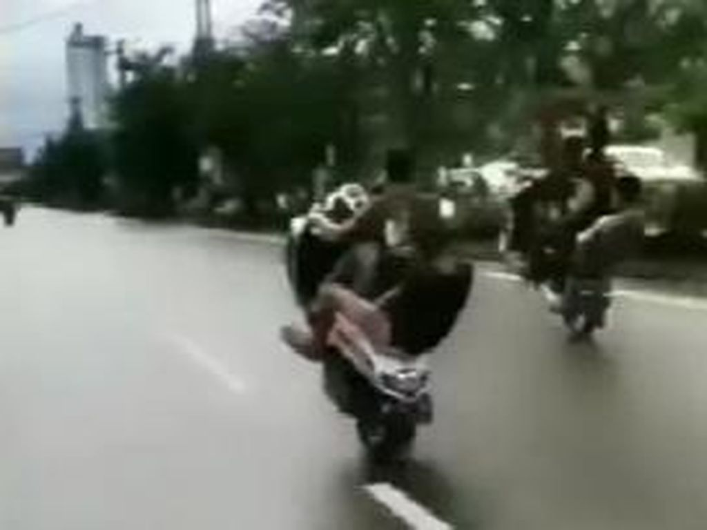 Pemotor Freestyle di Jalanan Makassar Kian Marak-Meresahkan, Ini Kata Polisi
