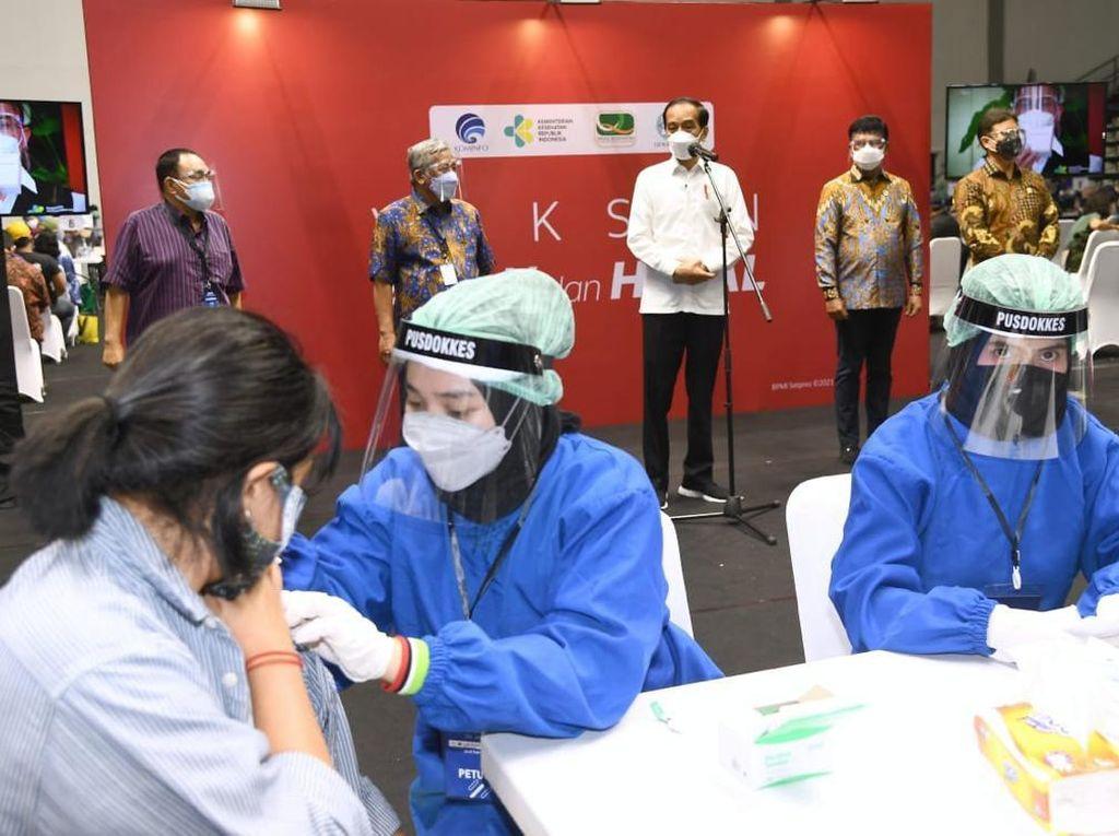 Layanan Mobilitas Gojek Dukung Program Vaksinasi Pemerintah
