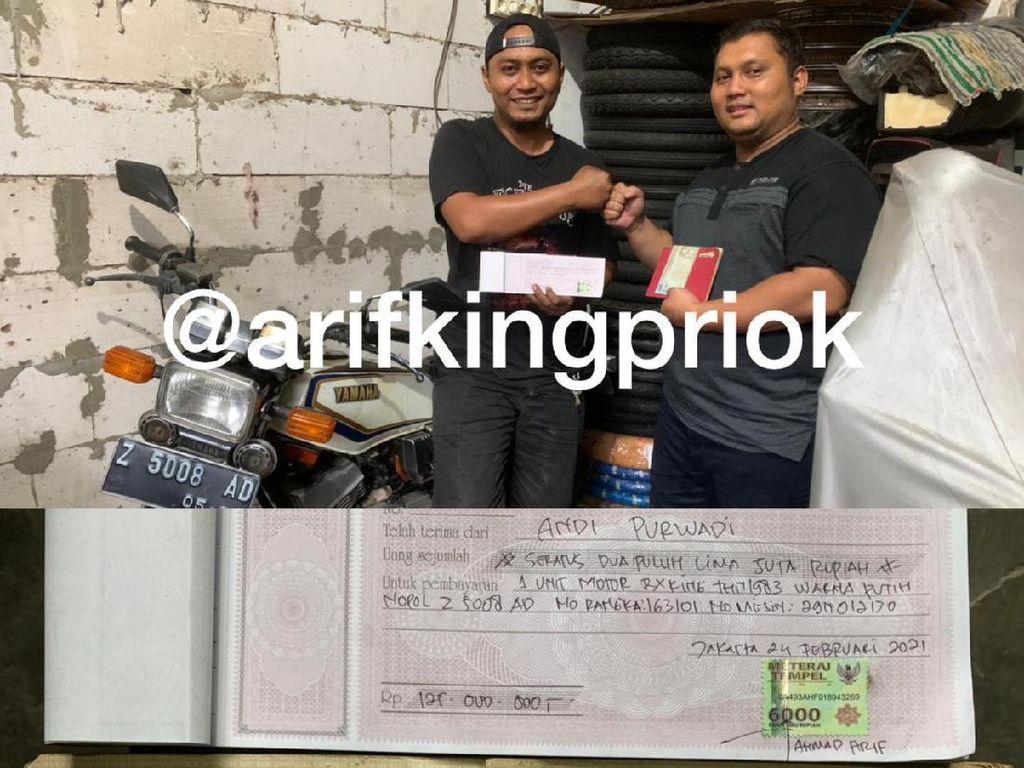 Heboh Lagi, RX-King Laku Rp 125 Juta!
