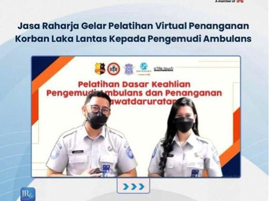 Jasa Raharja-Polri Latih Pengemudi Ambulans Tangani Korban Kecelakaan