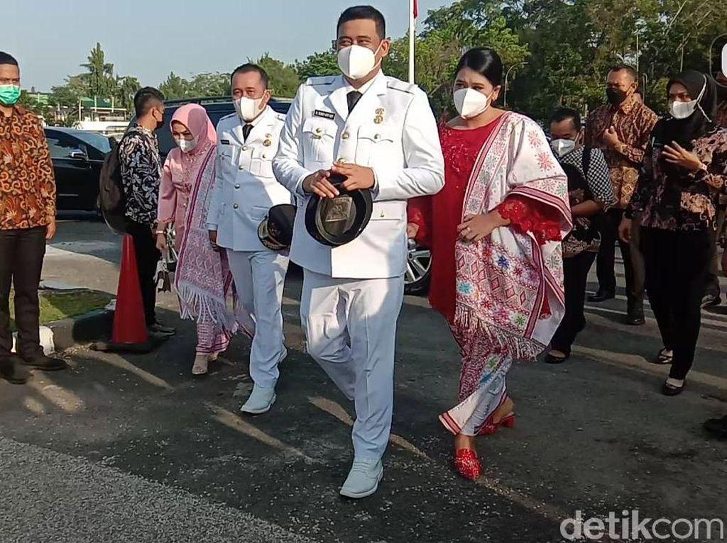 Adu Gaya Kahiyang Ayu dan Selvi Ananda Dampingi Suami di Pelantikan Wali Kota