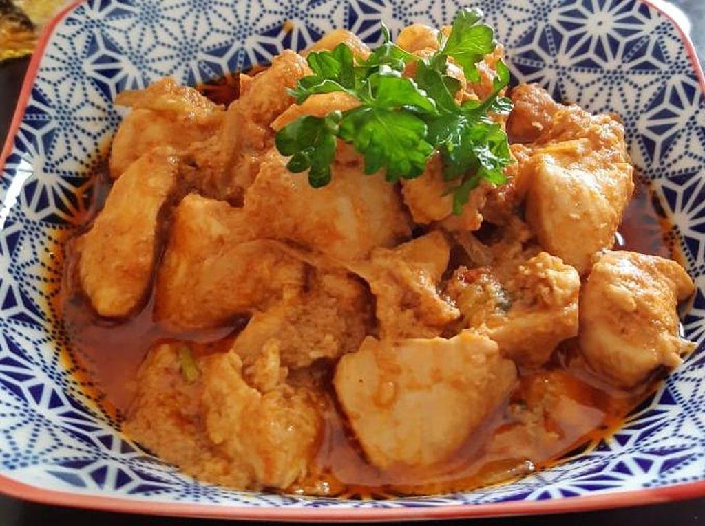 Resep Pembaca : Butter Chicken Ala Amoola yang Berempah Sedap