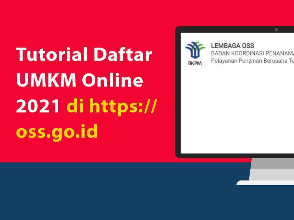 Tutorial Daftar UMKM Online 2021 di https://oss.go.id
