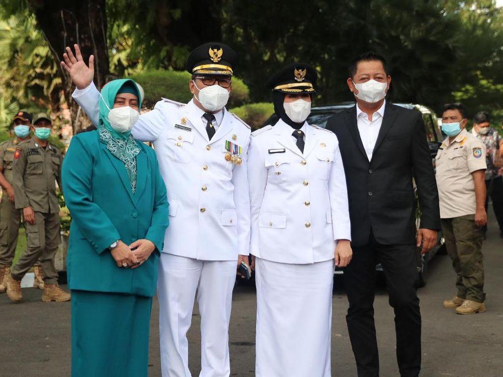 Sah Jadi Walkot-Wawalkot Makassar, Danny-Fatma Fokus Tuntaskan Pandemi