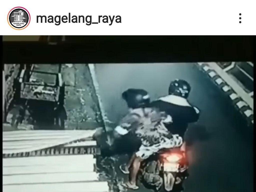 Bikin Heboh! Pencurian Tempe Sepanjang 2 Meter di Magelang Terekam CCTV