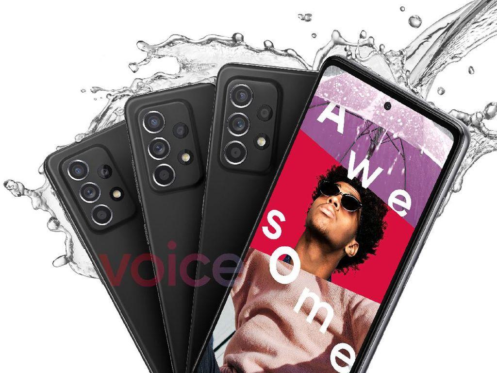 Galaxy A52 dan A72 Bakal Tahan Air