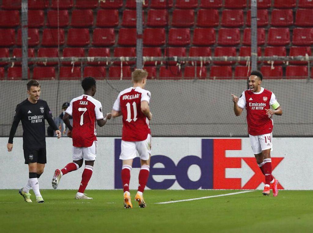 Arsenal Vs Benfica: Menang Dramatis, The Gunners ke-16 Besar