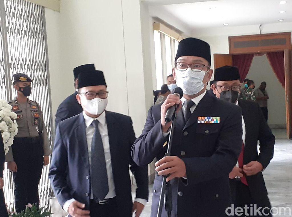 Ridwan Kamil Lantik 5 Kepala Daerah di Gedung Merdeka, Ini Daftarnya