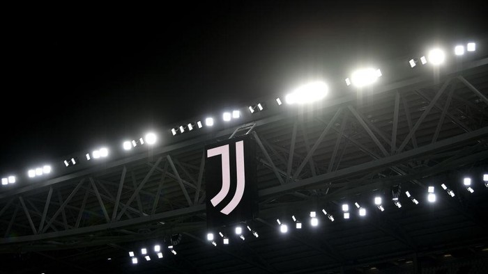 TURIN, ITALY - OCTOBER 28: A general view inside the stadium of the Juventus  during the UEFA Champions League Group G stage match between Juventus and FC Barcelona at Juventus Stadium on October 28, 2020 in Turin, Italy. Sporting stadiums around Italy remain under strict restrictions due to the Coronavirus Pandemic as Government social distancing laws prohibit fans inside venues resulting in games being played behind closed doors. (Photo by Valerio Pennicino/Getty Images)