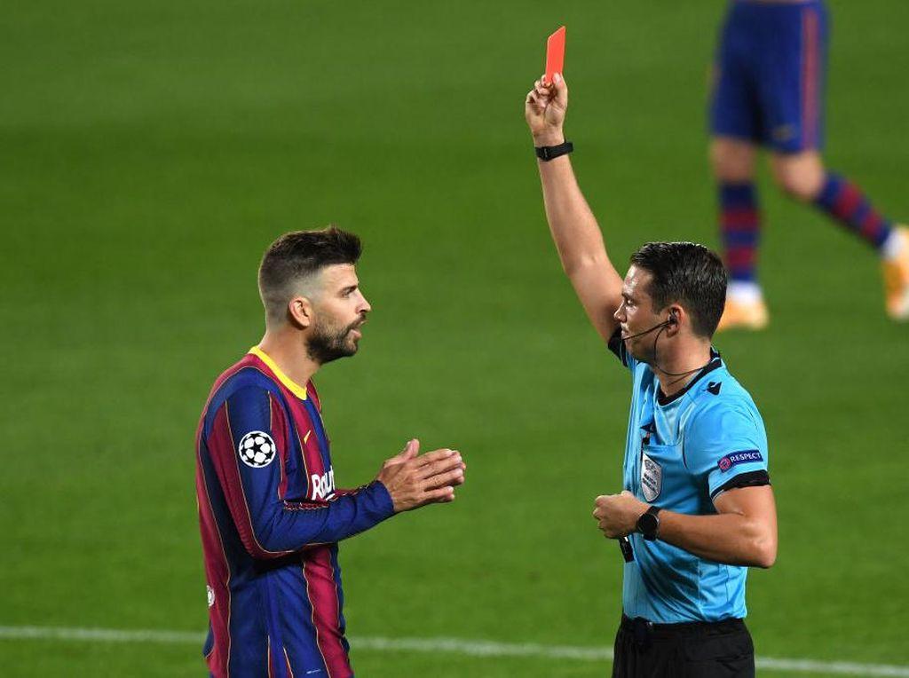 5 Tim Paling Banyak Kartu Merah dalam Sejarah Liga Champions
