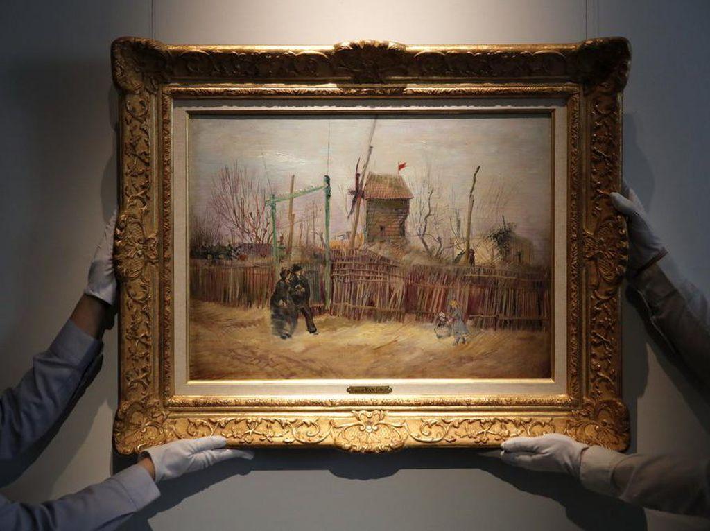 Wah! Lukisan Langka Vincent Van Gogh Terjual Rp 222 Miliar