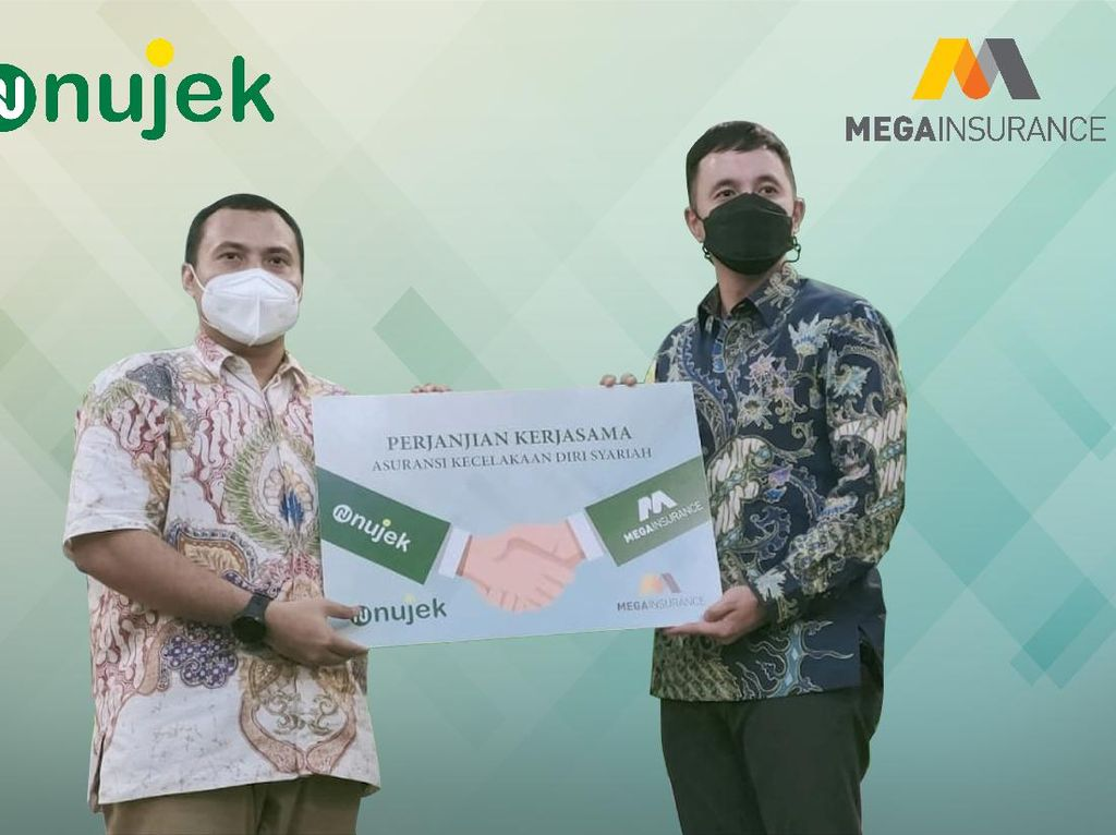 Gandeng Mega Insurance, Nujek Luncurkan Nujek Protection