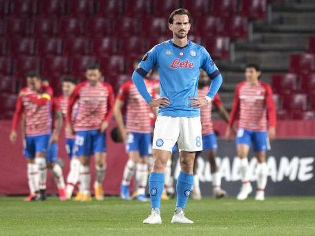 Tersingkir dari Liga Europa, Napoli Wajib Tembus 4 Besar Serie A