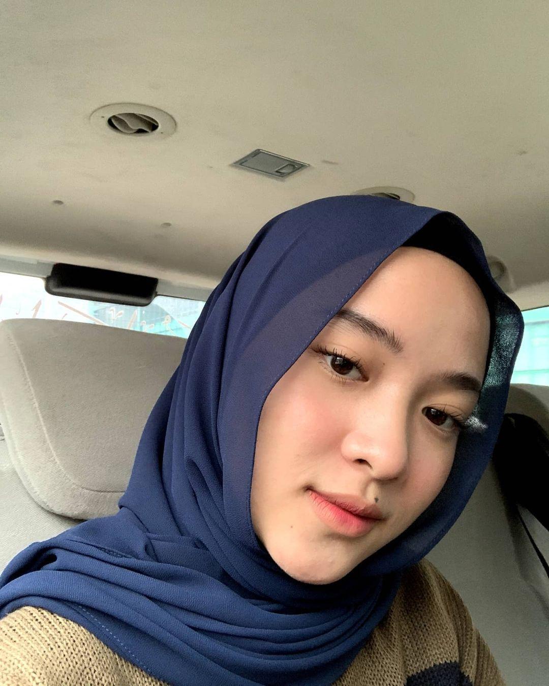 Nissa Sabyan makeup natural