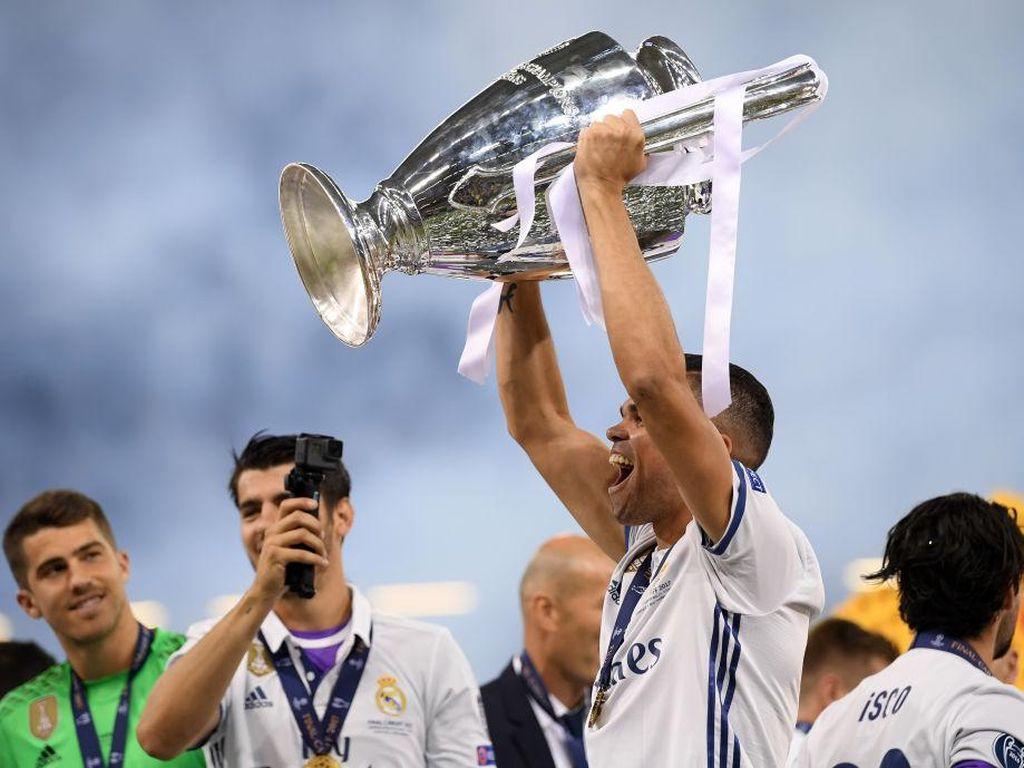 Pepe, si Anak Mami dengan Tiga Trofi Liga Champions