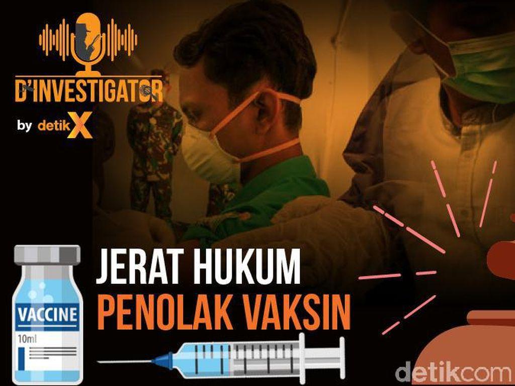 Podcast: Jerat Hukum Penolak Vaksin