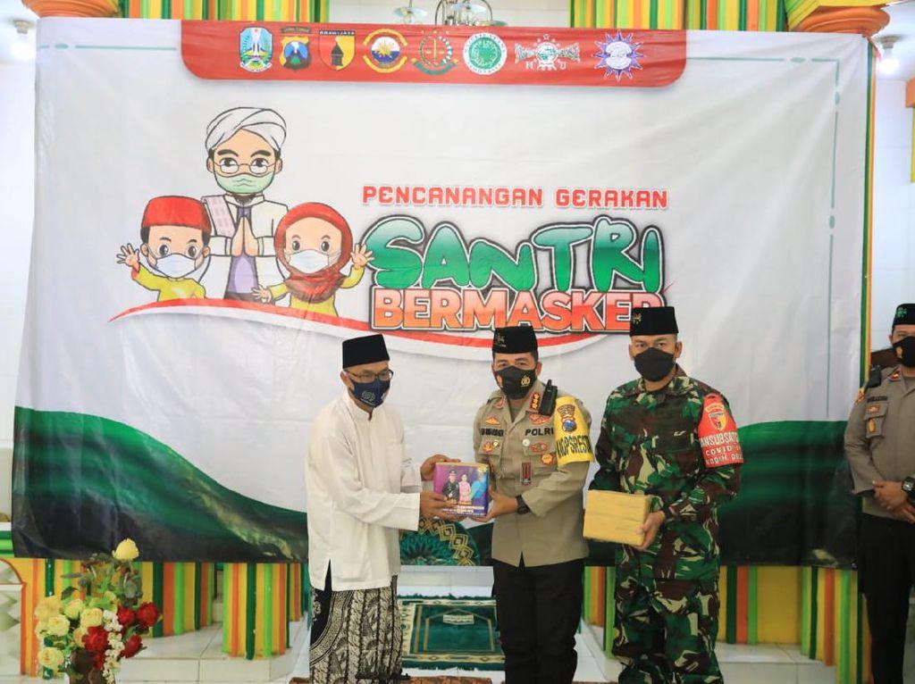 Ponpes Disiplin Bakal Jadi Suksesnya Gerakan Santri Bermasker di Kota Malang