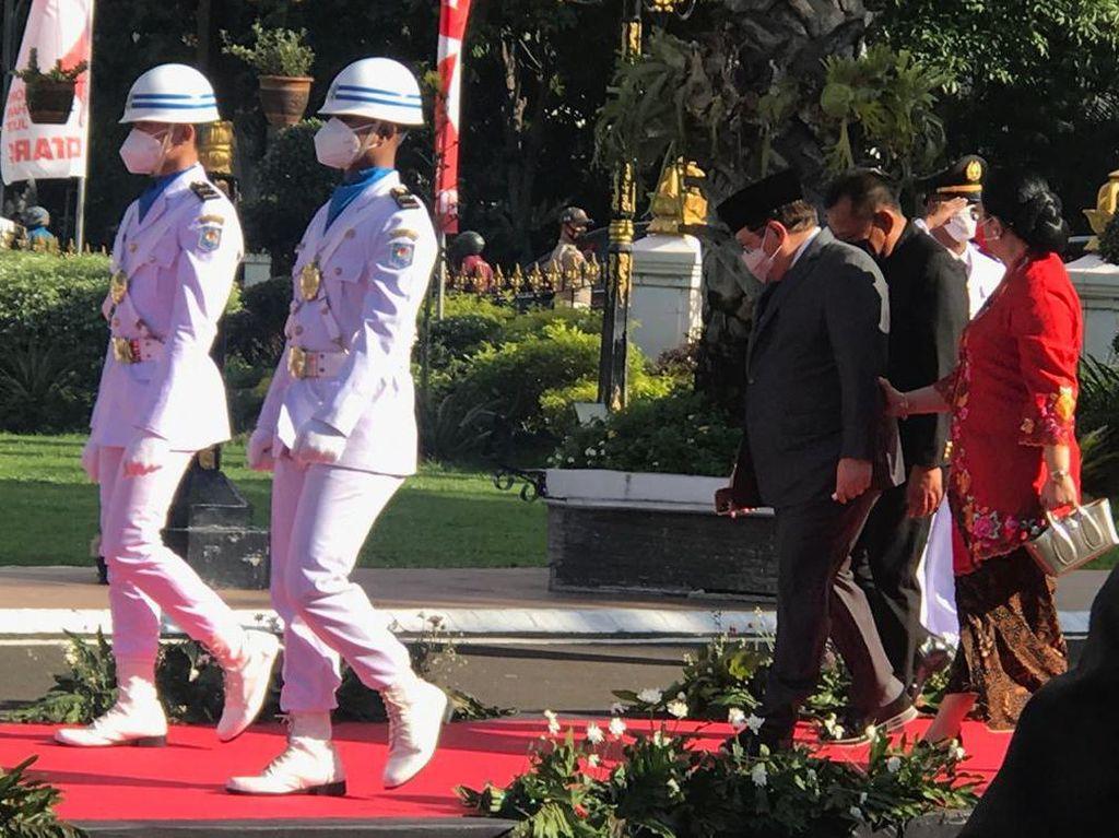 Pramono Anung Hadiri Pelantikan Anaknya Bupati Kediri