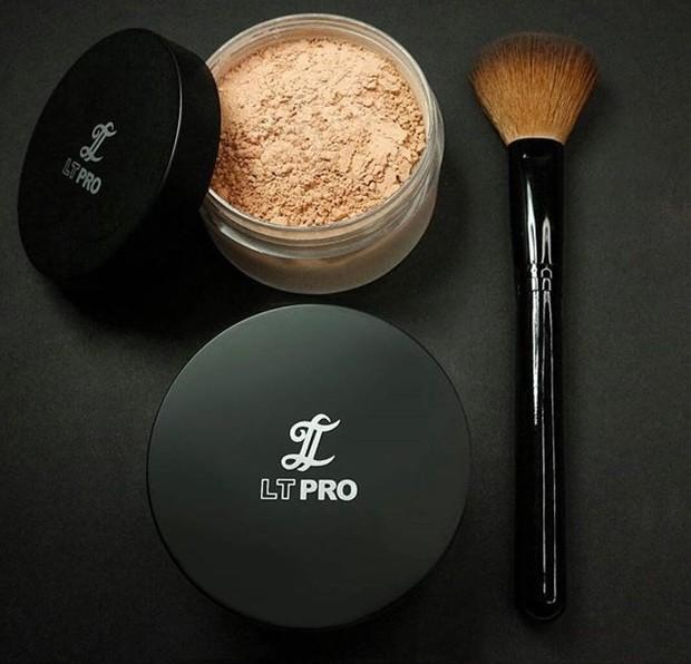 Translucent powder lokal