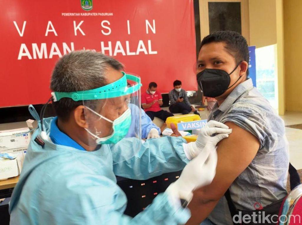 44 Wartawan Pasuruan Raya Disuntik Vaksin COVID-19