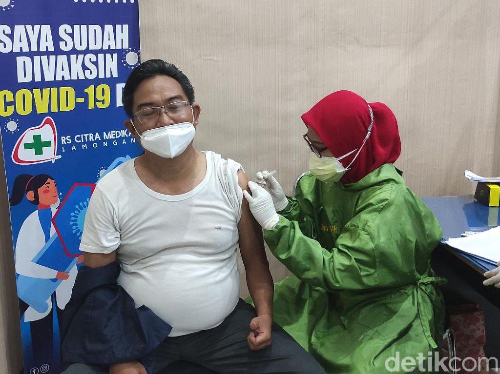 Jurnalis di Lamongan Mulai Jalani Vaksinasi COVID-19