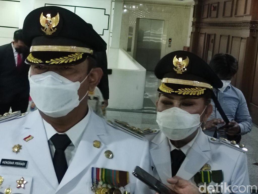 Usai Dilantik, Walkot Hendi Bakal Evaluasi Penanganan Banjir Semarang