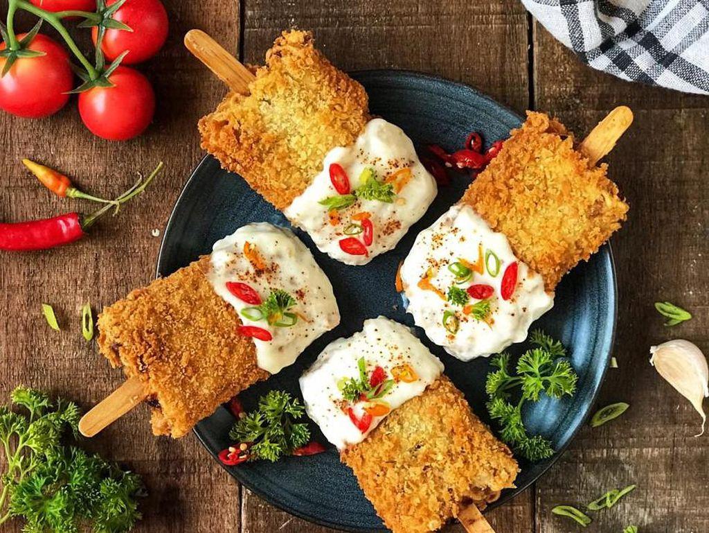 Resep Pembaca : Ayam Goreng Lolipop Saus Keju