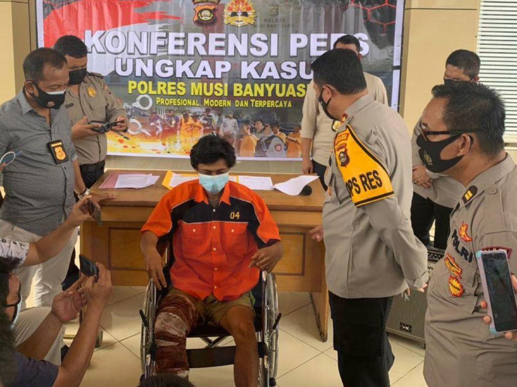 Dor! Polisi Tembak Pembunuh Bayaran Lintas Provinsi di Sumut