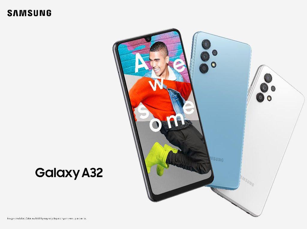 Harga Galaxy A32 Rp 3 Jutaan, Ini Spesifikasi Lengkapnya