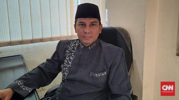 Pendakwah dan tokoh agama, Ustadz Jamal Hasyim saat ditemui di kediamannya, Kayu Manis, Matraman, Jakarta Timur, Sabtu (27/2).